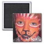 Li'l tiger :)) refrigerator magnet