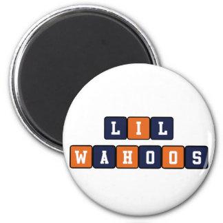 Lil Wahoos 6 Cm Round Magnet