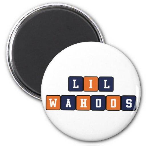 Lil Wahoos Refrigerator Magnets
