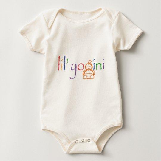 lil' yogini baby T Baby Bodysuit