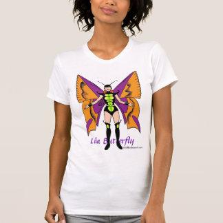 Lila Butterfly Shirt