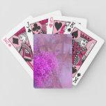 lila Sommertraum Spielkarten