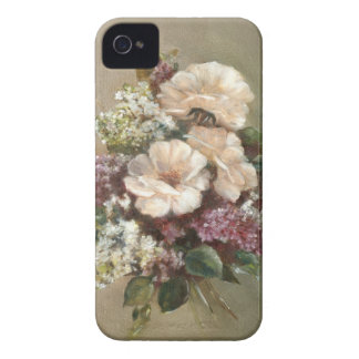 Lilac and Rose bouquet Case-Mate iPhone 4 Case