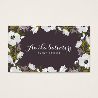 Lilac Anemone Blooms Personalized Floral