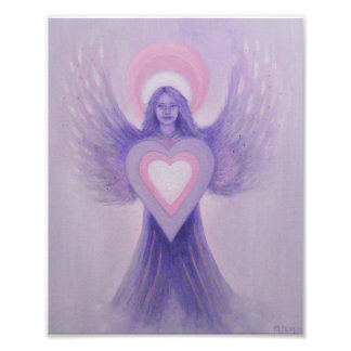 Lilac Angel Photo Print