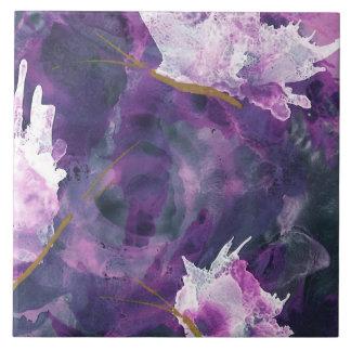 Lilac Art Tile