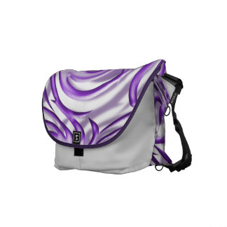 Lilac Ball Courier Bags