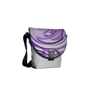 Lilac Ball Messenger Bags