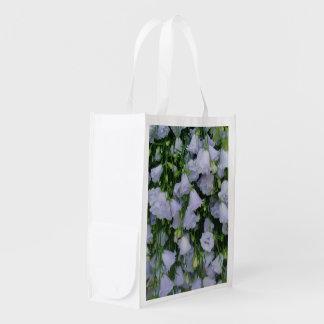 Lilac Bells Photo Image Fabric Reusable Bag