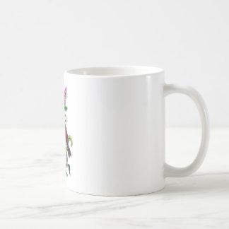 lilac bird coffee mug