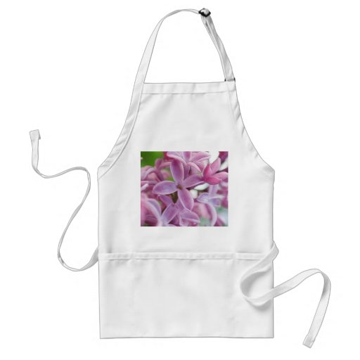 Lilac Bloom In Early Spring Apron