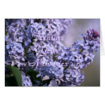 Lilac Blooming- customise any occasion