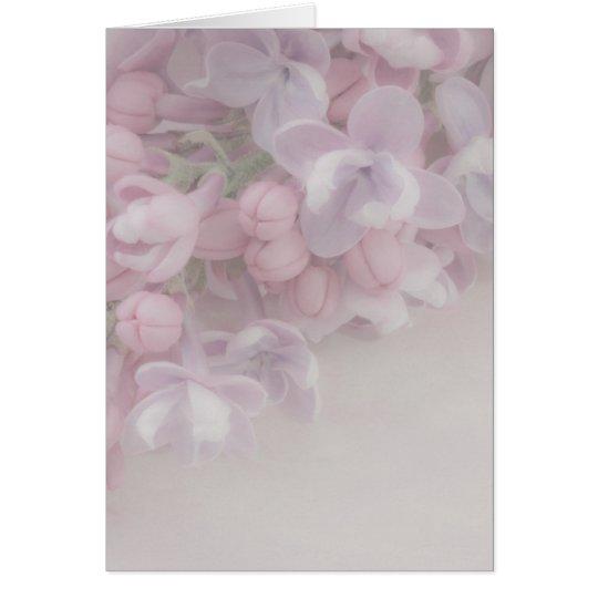 Lilac Blossom Card