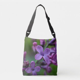 Lilac blossoms tote bag