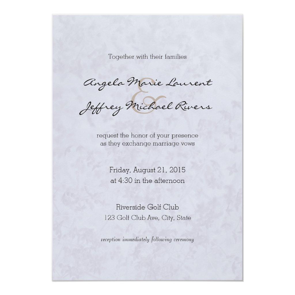Lilac Blush Wildflowers Wedding