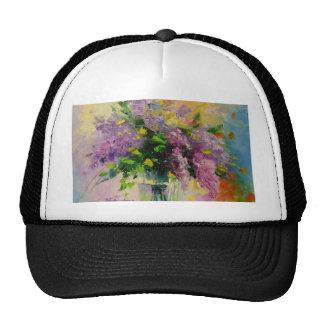 Lilac Bouquet Cap