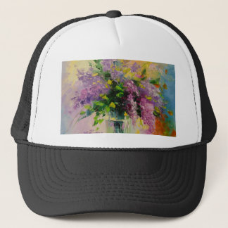 Lilac Bouquet Trucker Hat