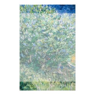 Lilac Bush Lilacs by Vincent Van Gogh Flyer