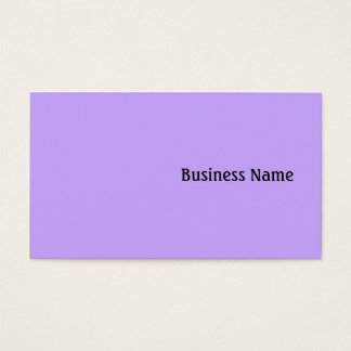 Lilac Business Card