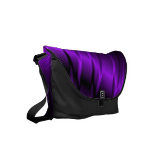 Lilac Claws Messenger Bag