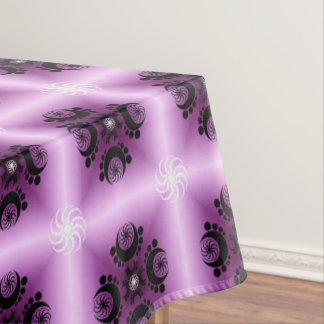 Lilac Crop Circle Inspired Tablecloth
