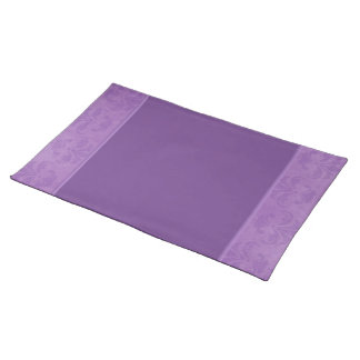 Lilac Damask Placemat