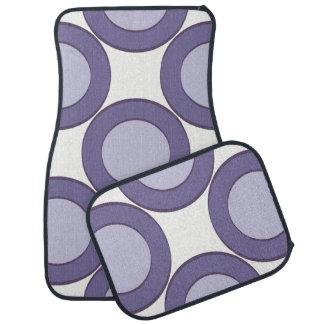 Lilac Dot Car Mat