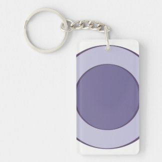 Lilac Dot Key Ring