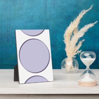 Lilac Dot Plaque
