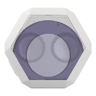 Lilac Dot White Bluetooth Speaker
