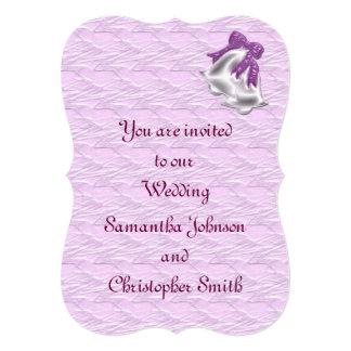 Lilac Elegance #1 13 Cm X 18 Cm Invitation Card