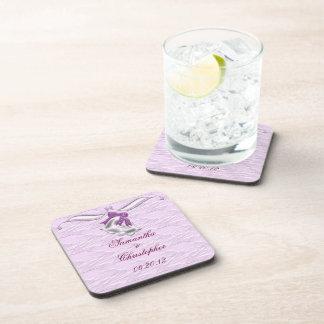 Lilac Elegance 1 Beverage Coaster