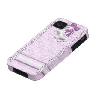 Lilac Elegance #1 Case-Mate iPhone 4 Cover