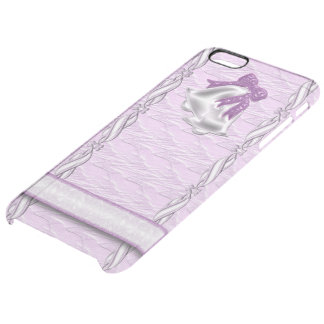 Lilac Elegance #1 Clear iPhone 6 Plus Case