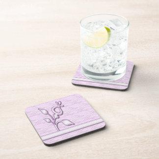 Lilac Elegance 1 Coasters