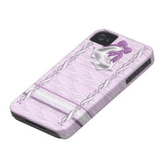 Lilac Elegance #1 iPhone 4 Cases