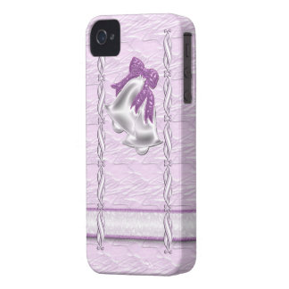 Lilac Elegance #1 iPhone 4 Cover