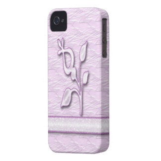 Lilac Elegance #1 iPhone 4 Covers