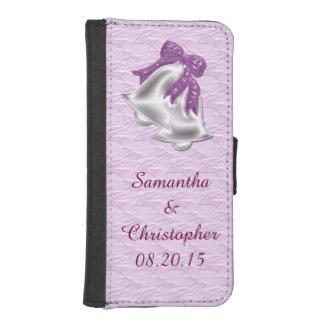 Lilac Elegance #1 iPhone 5 Wallet Case
