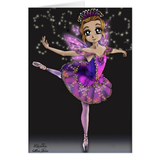 Lilac Fairy - Sleeping Beauty Ballet Card