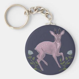 Lilac fawn key ring