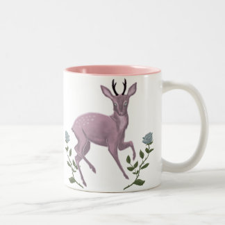 Lilac Fawn Two-Tone Coffee Mug