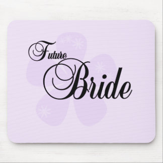 Lilac Flower Future Bride Tshirts and Gifts Mouse Pad