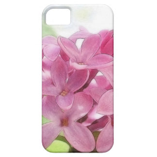 Lilac Flowers In The Morning Sunlight iPhone 5 Case