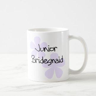 Lilac Flowers Jr. Bridesmaid Coffee Mug