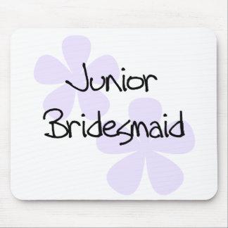 Lilac Flowers Junior Bridesmaid Mousepads