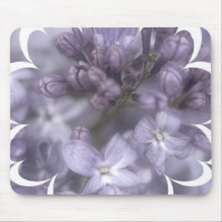 Lilac Flowers Mouse Pad
