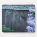 Lilac Flowers & Old Wood Mousepad