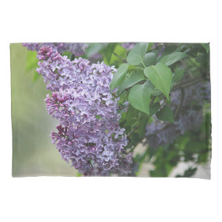Lilac flowers pillowcase
