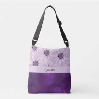 Lilac Flowers & Purple Bokeh Tote Bag